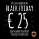 Black Friday Jas voor 25 euro